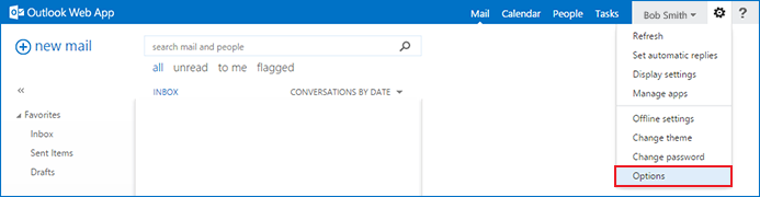 Configuring junk Email filter in Outlook Web Access