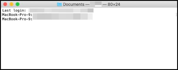 command line on mac to check telnet mysql database connection