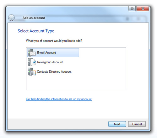 windows live mail step 5