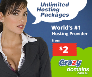 Coupon - unlimited hosting packages Crazy Domains