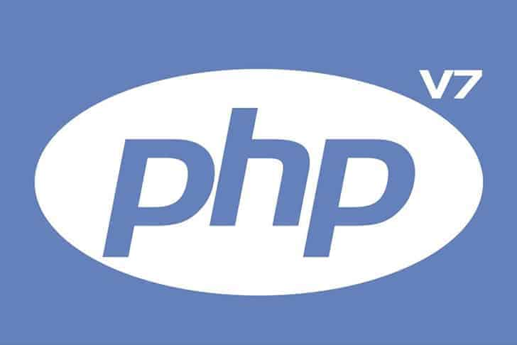 php logo with version 7